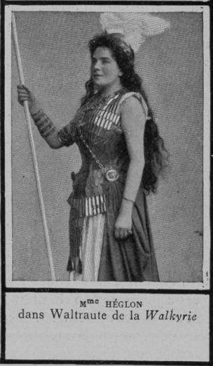 Meyriane Héglon as Waltrute from La Walkyrie