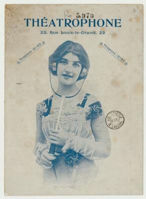 Théâtrophone Program for November 12-14, 1904 (p. 1)