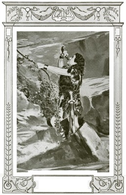 Charles Rousselière as Siegfried (Siegfried) at l'Opéra in 1904
