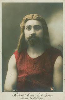 "Rousselière at the Opera in ""La Walkyrie"""
